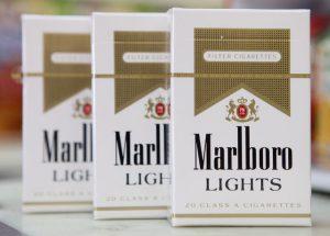 Популярные марки лёгких табачных изделий
