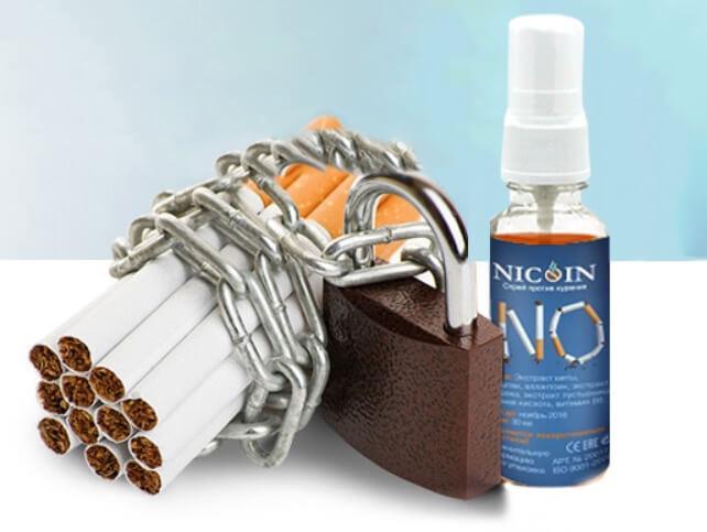 Спрей против курения Nicoin