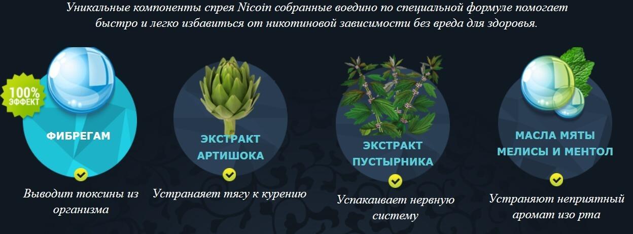 Состав Nicoin