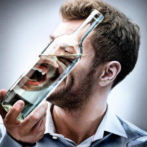 Человек в состоянии алкогольного опьянения
