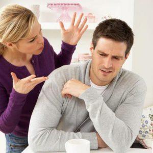 Реакция жены на пьяного мужа