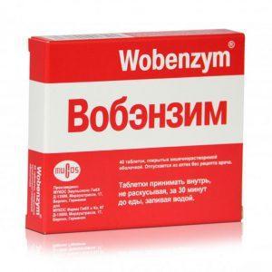 Совместимы ли препарат Вобэнзим и алкоголь