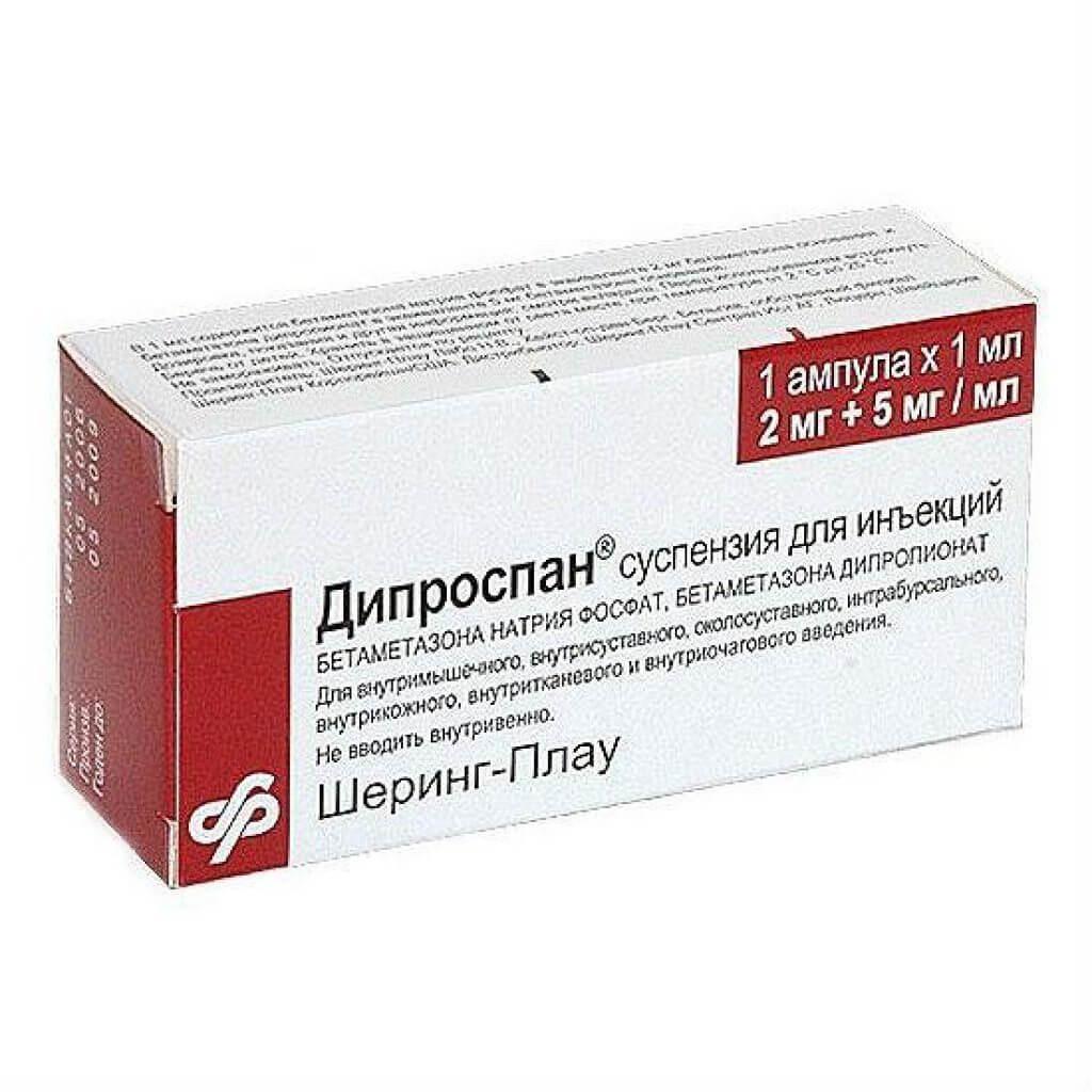 Совместное действие дипроспана и алкоголя на организм человека