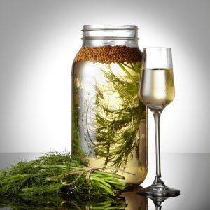 Аквавит – крепкий алкоголь