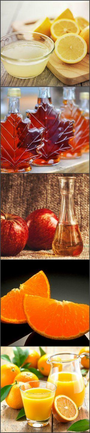 Ингредиенты для фруктового шотдринка