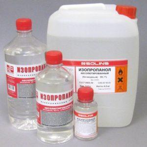Изопропиловый спирт: полезные и опасные свойства