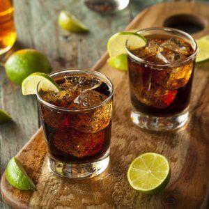 Коньяк с колой: как пить правильно