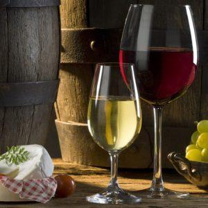 Суточная норма белого и красного вина