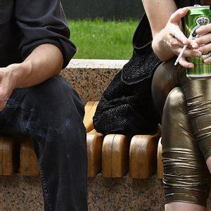 Распитие алкоголя в общественном месте