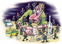 Опасность суицидов при алкоголизме
