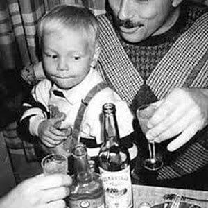 Про пьющего отца