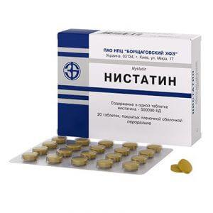 Таблетки Нистатин и алкоголь