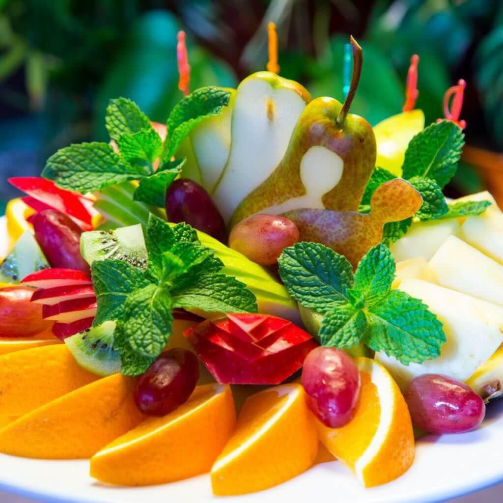 Нарезки фруктов домашних условиях фото
