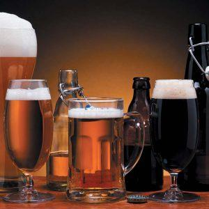 Пиво в стеклянной таре