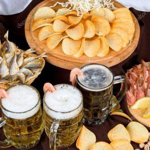 Традиции пивных посиделок: с чем пить пенное?