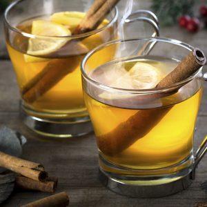 Яблочный коктейль с кальвадосом