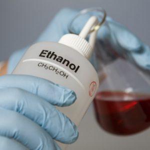 Плотность этанола при производстве алкоголя