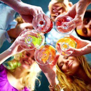 Задача вечеринки: как быстро опьянеть от водки, если ее мало