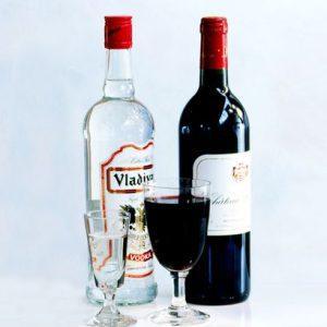 Водка и вино: что вреднее?